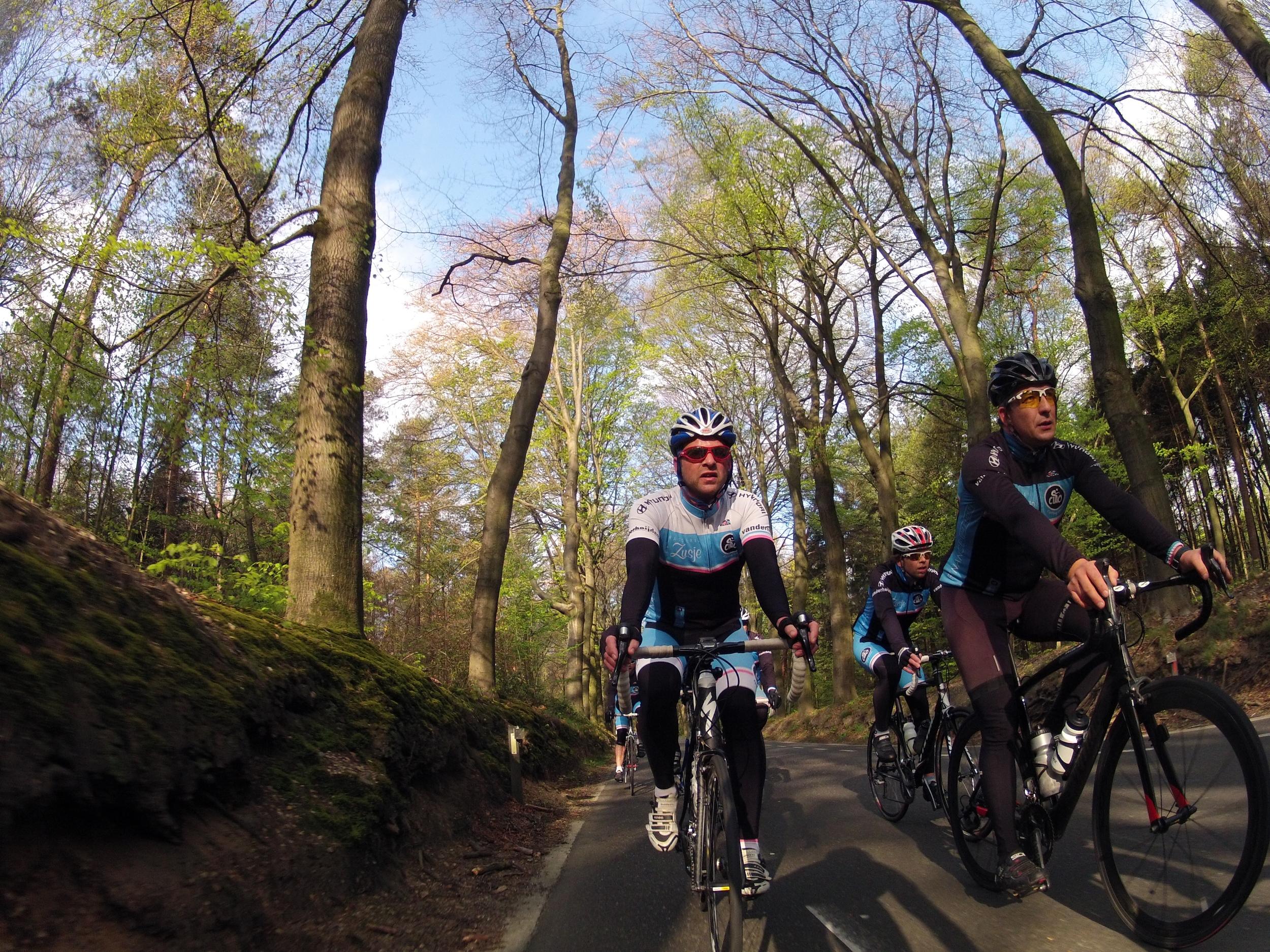 """Een prachtige woensdag avond in het voorjaar. Lekker om half 7 op de fiets voor een rondje Groesbeek en Berg en Dal. Fantastische actiefoto's genomen met de """"GO PRO"""" van Michiel."""