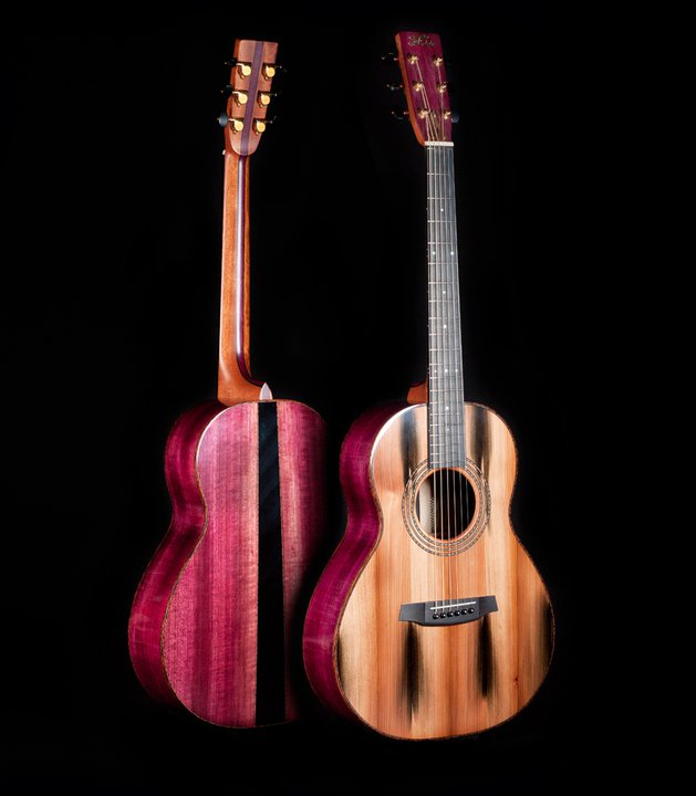 Megan's Custom Fylde Guitar 'Coco'