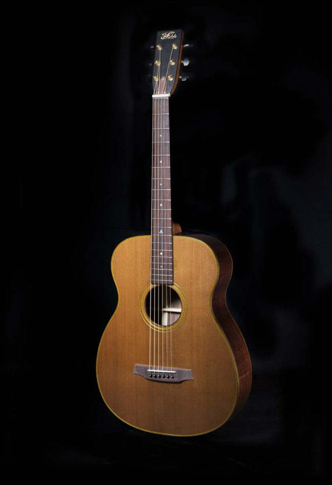 Megan's Custom Fylde Guitar 'Rosie'