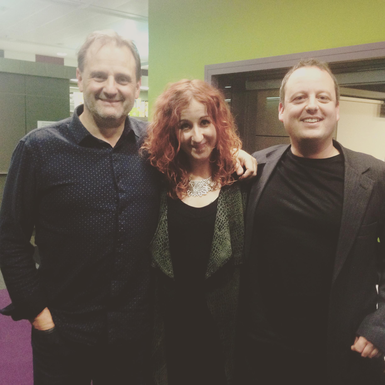 Mark, Meg and Matthew!