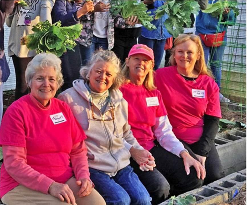 Rosey Girls Volunteers