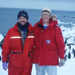 Drs. Craig Smith and Dave DeMaster, Professor, Dept. of Marine, Earth and Atmospheric Sciences, NCSU. Used with permission from NCSU.