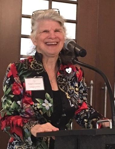 Vicki Corporon, Raleigh Garden Club President; Photo by Carol Breckheimer
