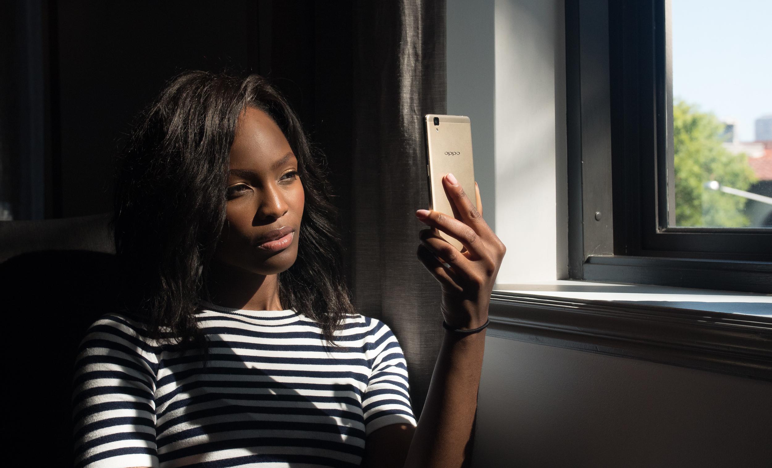 OPPO R7s Social Media Campaign shot on location in Sydney, Australia  Model: Mamé Adjei - America's Next Top Model   Shot with Panasonic Lumix GH4