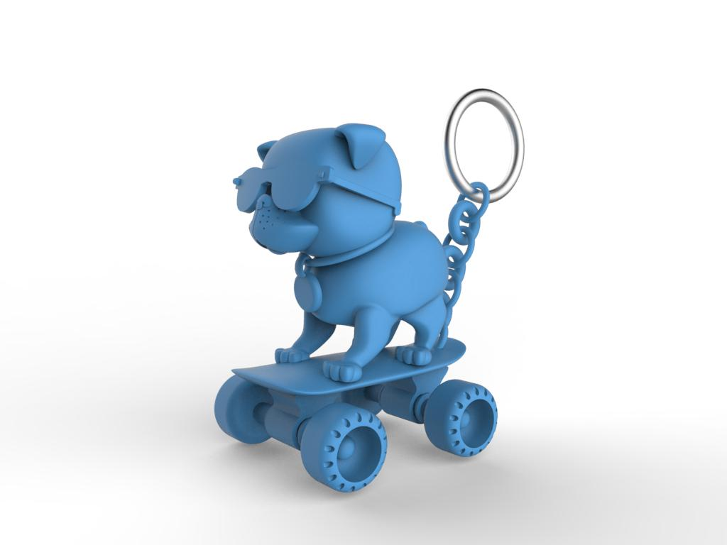 2014_Fall_ELDS 205_Jenna Himel_Assignment 5_AmericasMart Bulldog Keychain_render 1.jpg