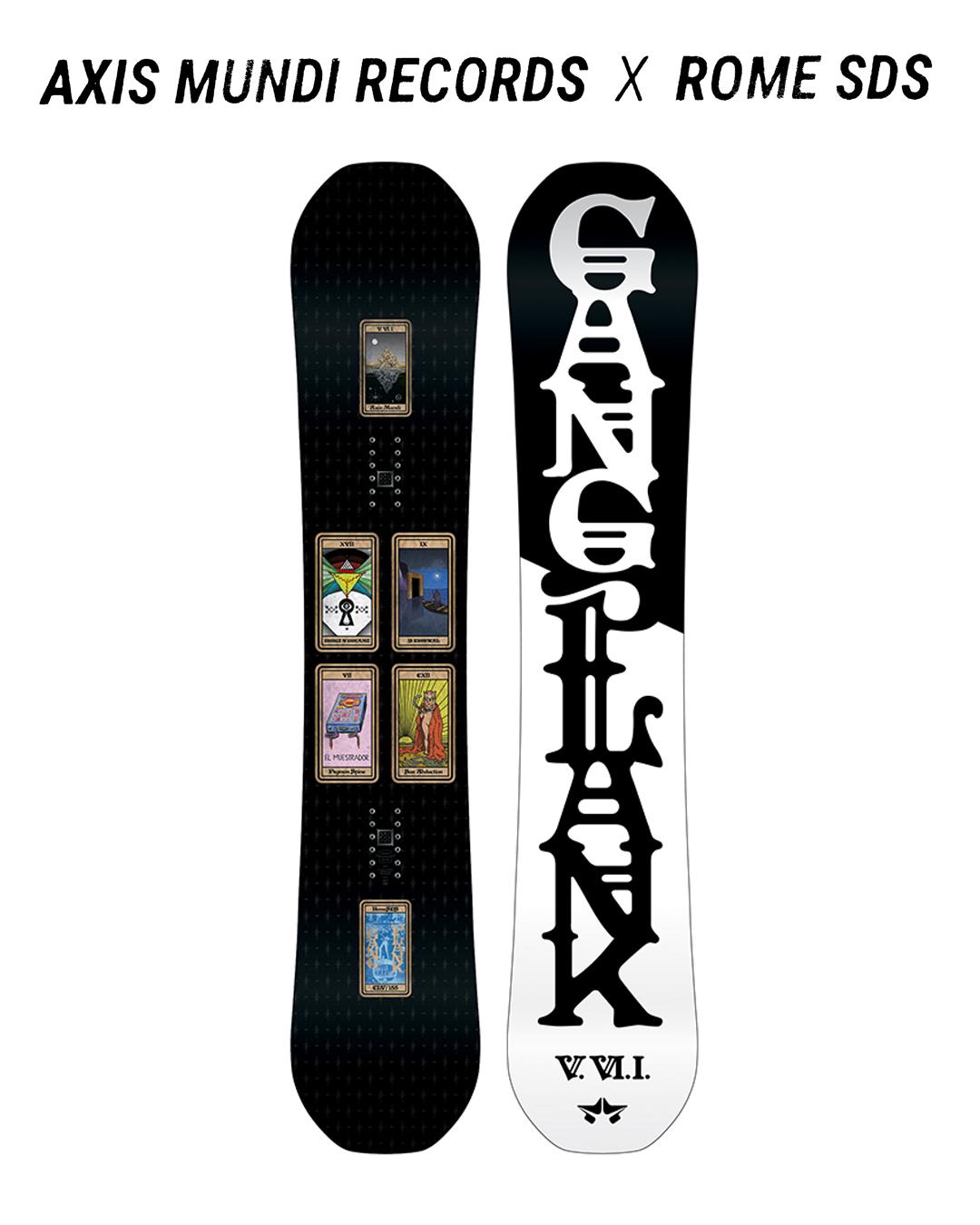 AXIS MUNDI x ROME SNOWBOARDS 2017 GANGPLANK