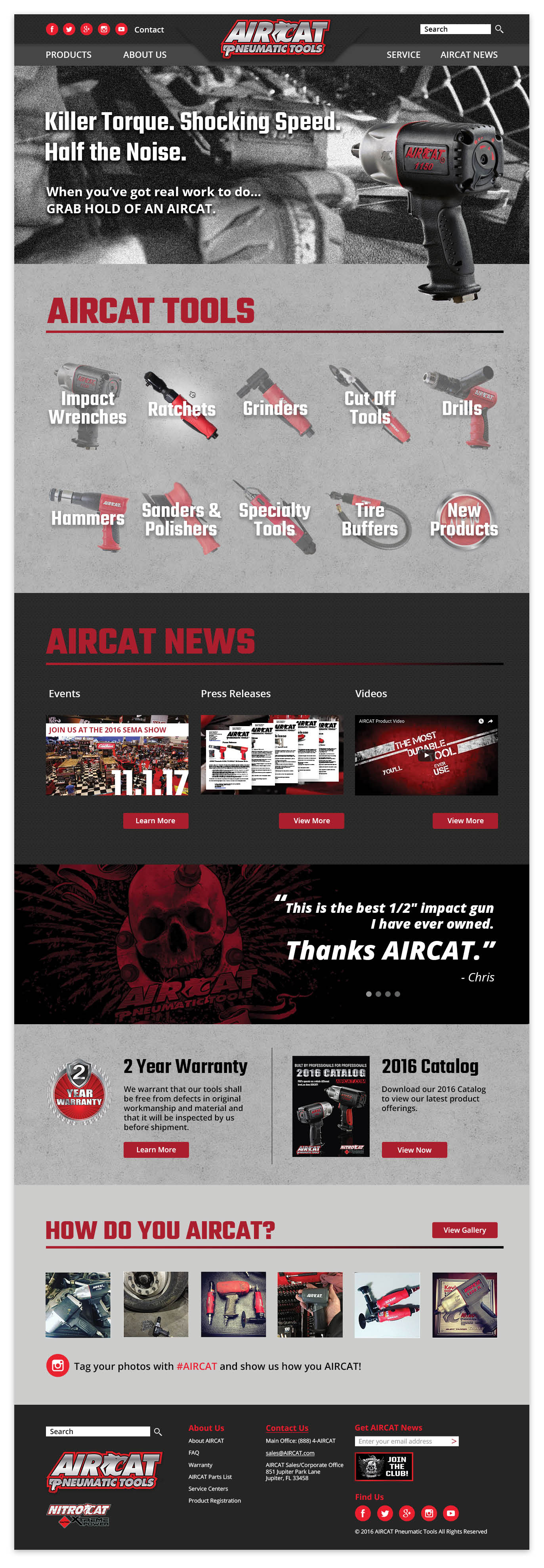 AIRCAT Homepage