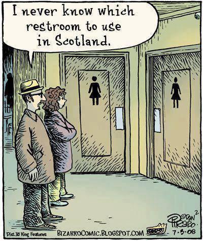 restroom cartoon