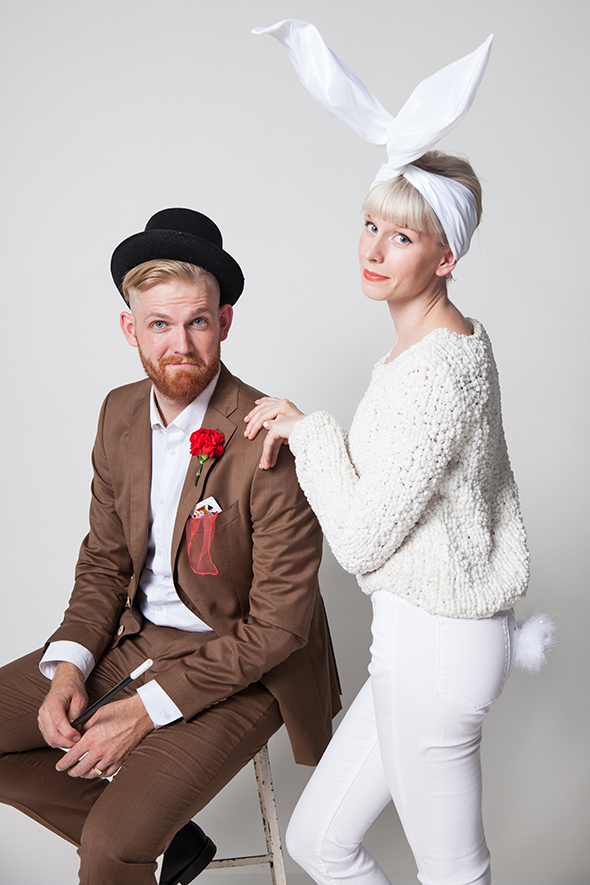 Magician and Rabbit Costume by Say Yes | Featured on the Keeper & Co. blog