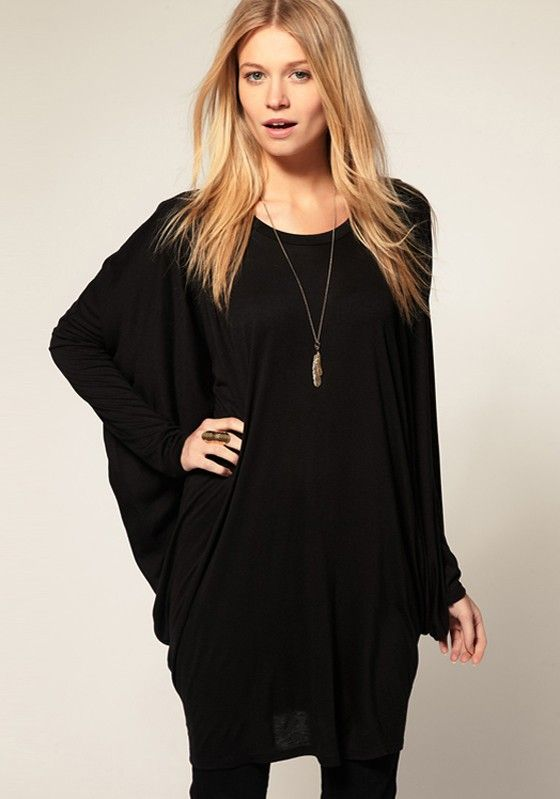 Black bat wing dress by Chic Chic | Featured on Keeper & Co.