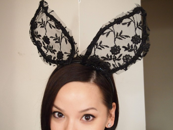 Lace ears by DIYnamic Style | Keeper & Co. Blog