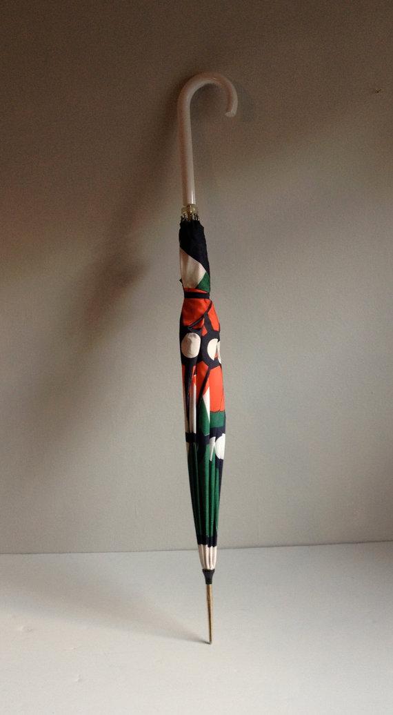 1960s Parisian Lanvin Umbrella from  1006 Osage | Keeper & Co. Blog