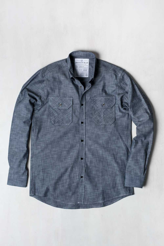 Ayres Chambray by United by Blue | Finds for Father Figures | Keeper & Co. Blog
