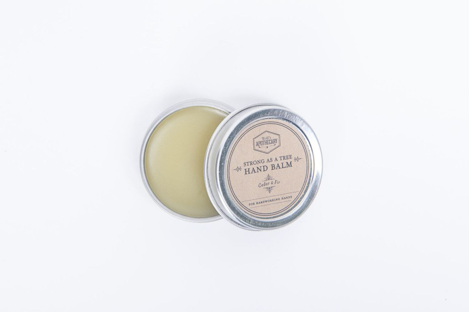 Strong as a Tree Hand Balm by Wolf's Apothecary | Finds for Father Figures | Keeper & Co. Blog