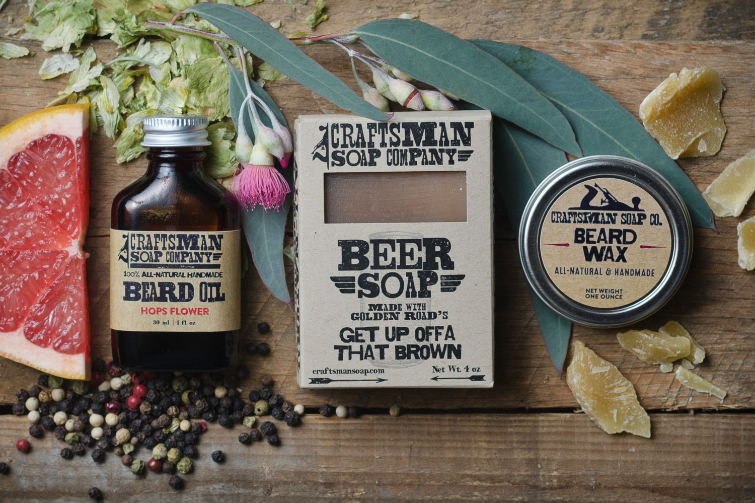 Beard Kit by Craftsman Soap Company | Finds for Father Figures | Keeper & Co. Blog