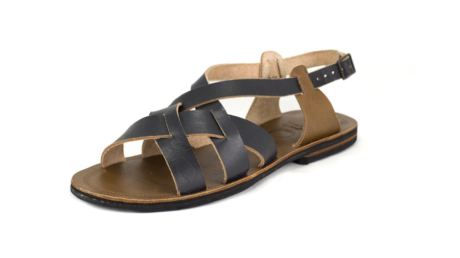 Black & Brown Leather by Caboclo   | Sustainable Summer Sandals | Keeper & Co. Blog