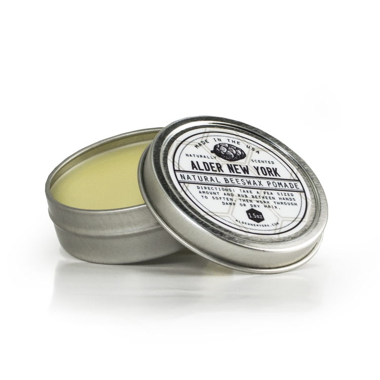 Natural Beeswax Pomade | Alder New York | 5 Planet-Protecting Pomades | Keeper 7 Co.