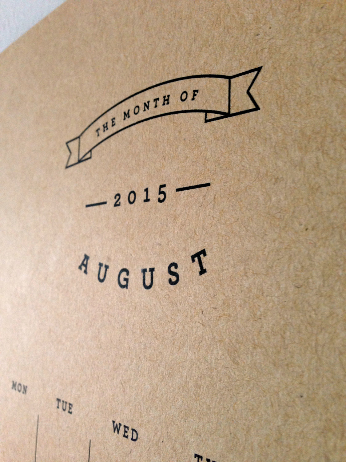 Made in Wyoming | 3 Simple & Sustainable Calendars | Keeper & Co. Blog