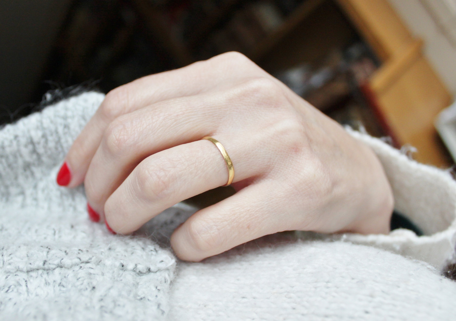 Vintage Gold Victorian Band | Ethical Matching Wedding Bands | Keeper & Co. Blog