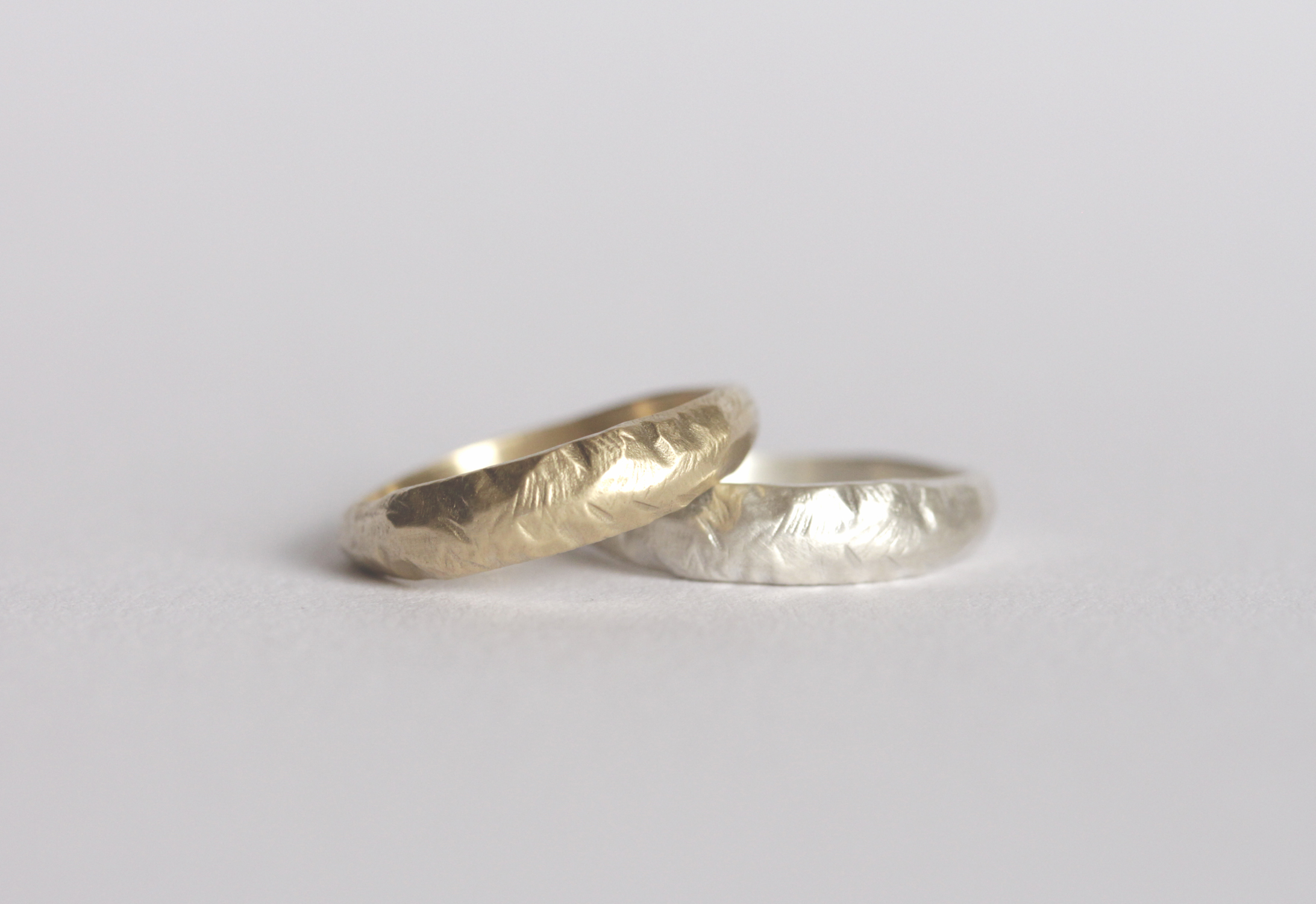 Ayers Ring by Rebecca Mir Grady | Ethical Matching Wedding Bands | Keeper & Co. Blog