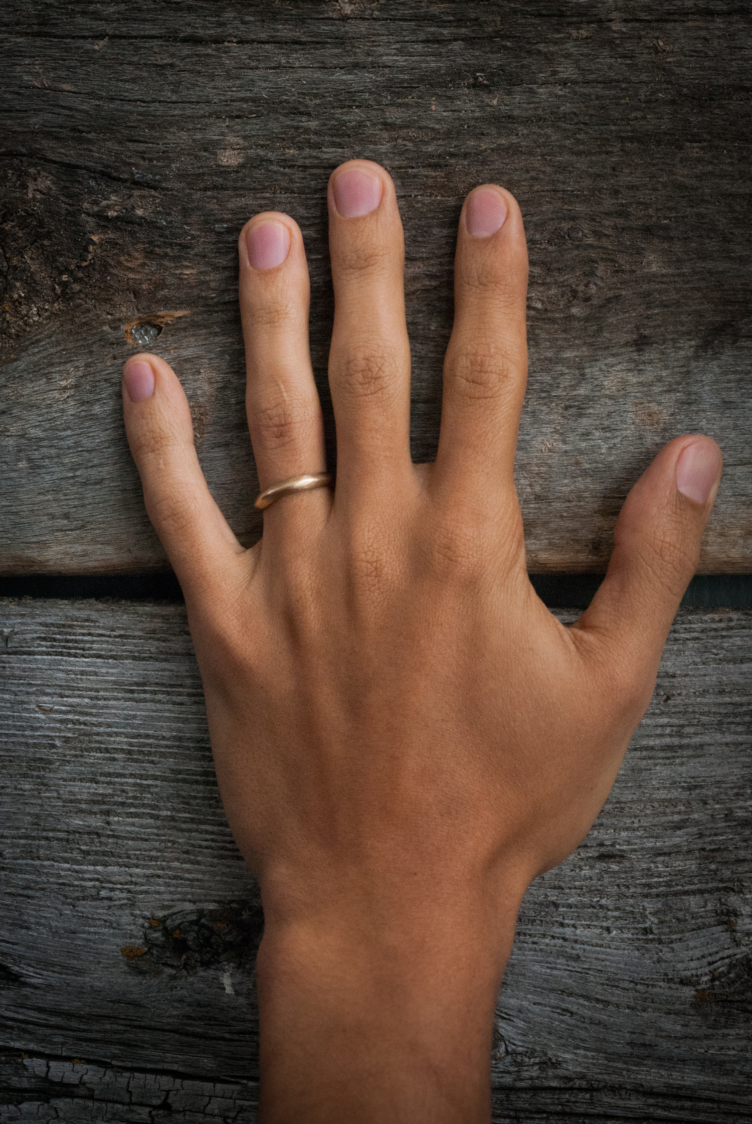 The Knife Band by Kate Ellen | Ethical, Matching Wedding Bands | Keeper & Co.