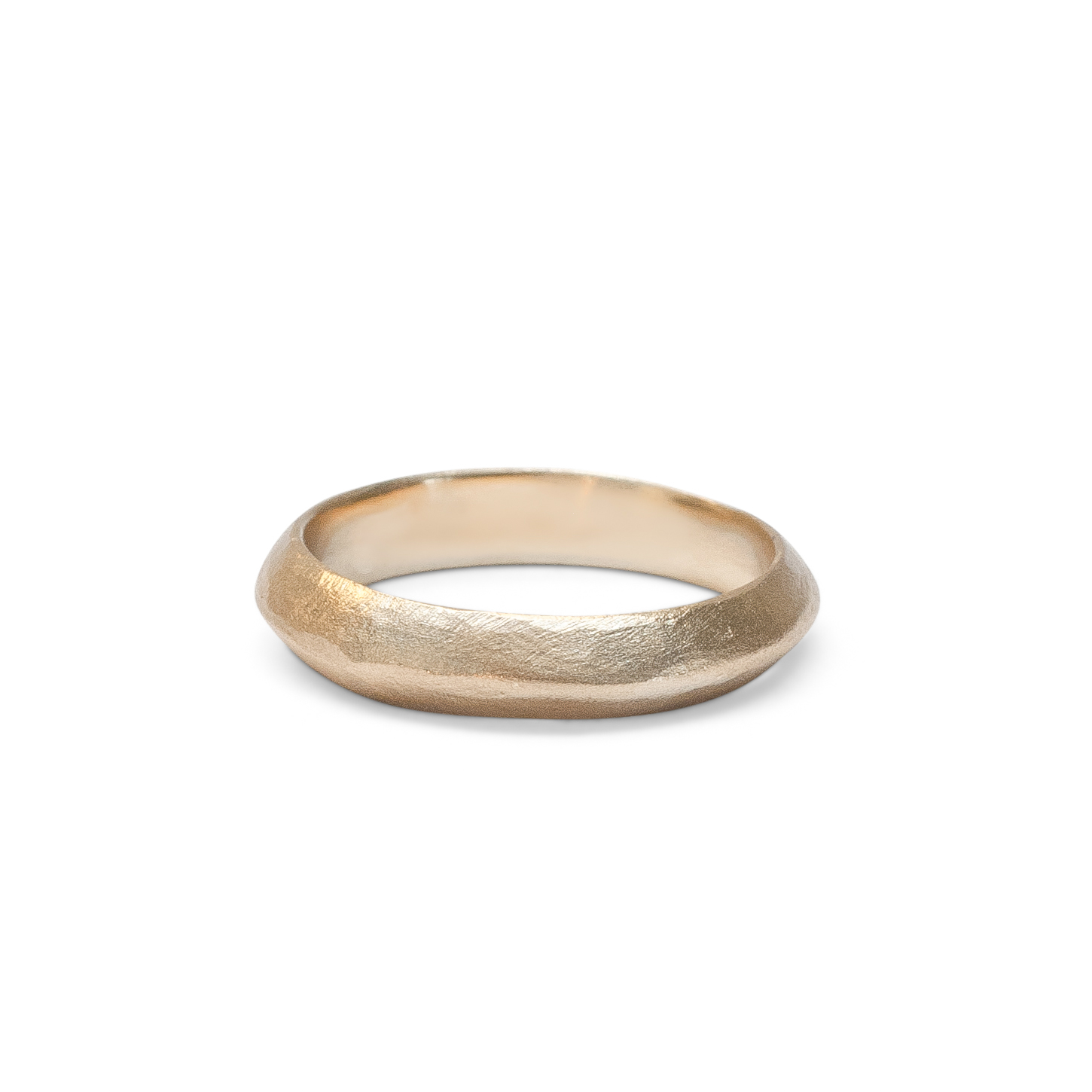 The Knife band by Kate Ellen | Ethical, Matching Wedding Bands | Keeper and Co.