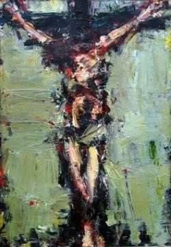 Crucifixion 1 by T ukasz Morawski