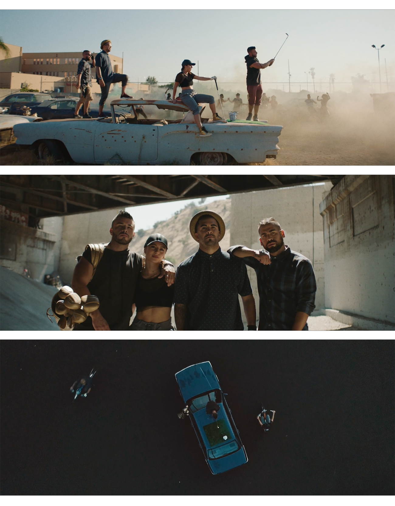 PGA X MITUDRIVING THROUGH THE HOOD - dIRECTOR : SEBASTIAN SDAIGUI