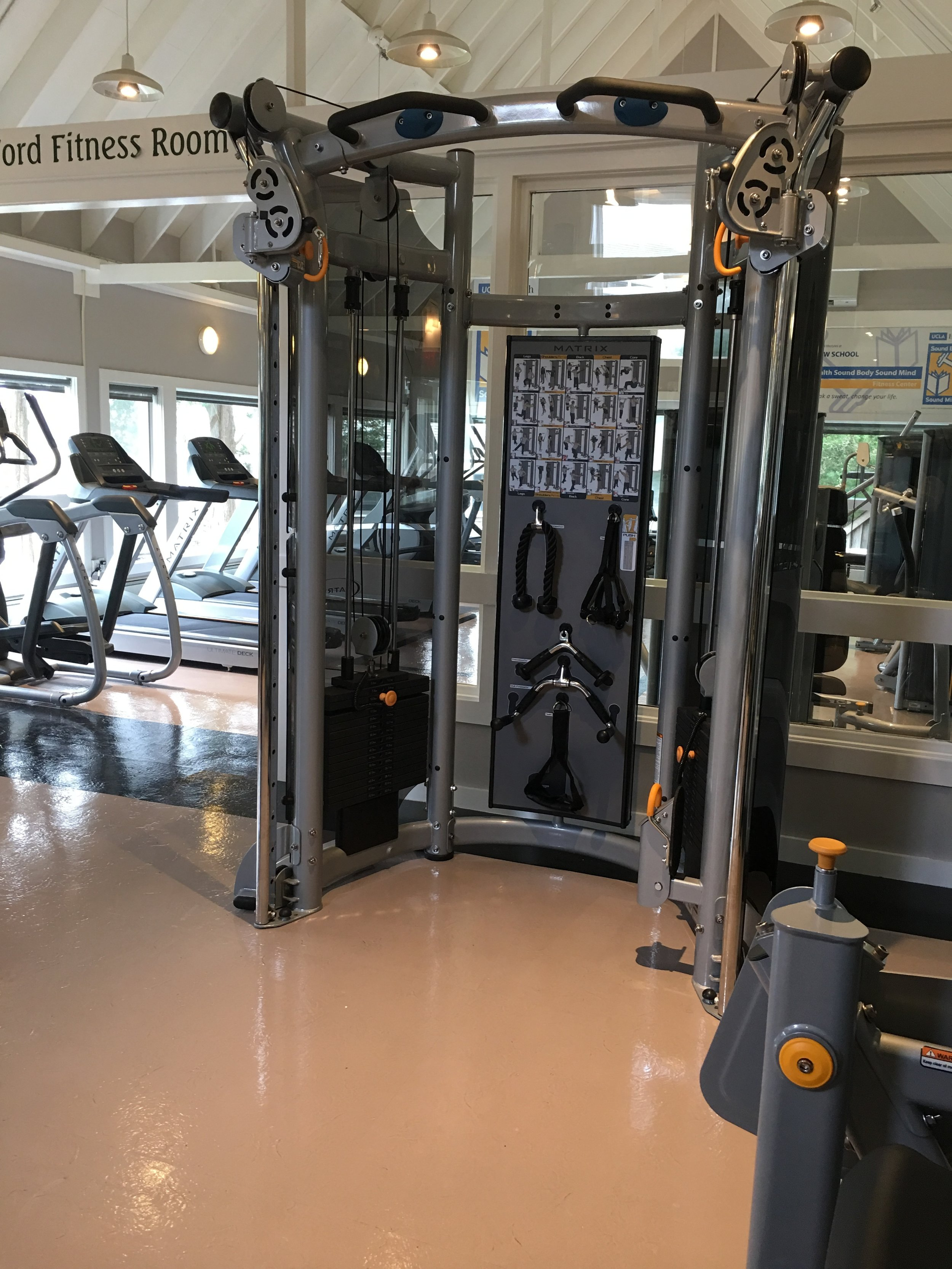 Riverview Fitness Center. Photo by Ilene B. Miller