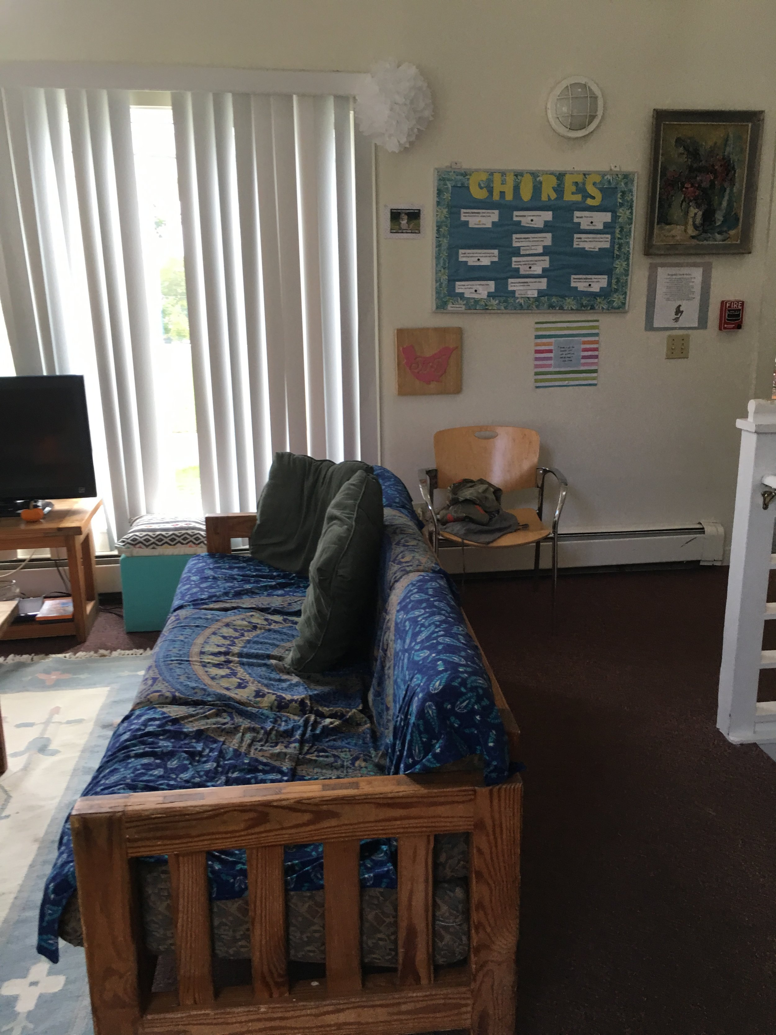 Riverview Dorms. Photo by Ilene B. Miller