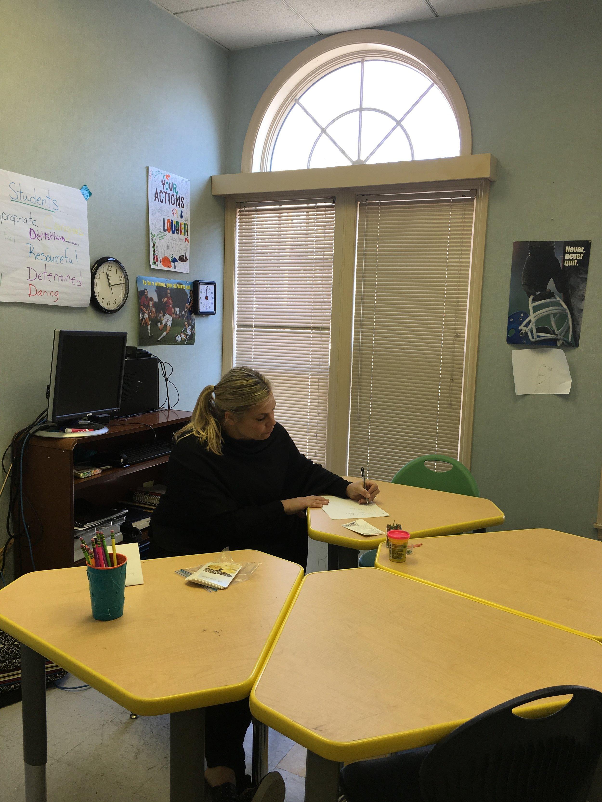 Lauretta Haugh, Special Education teacher. Photo by Ilene B. Miller