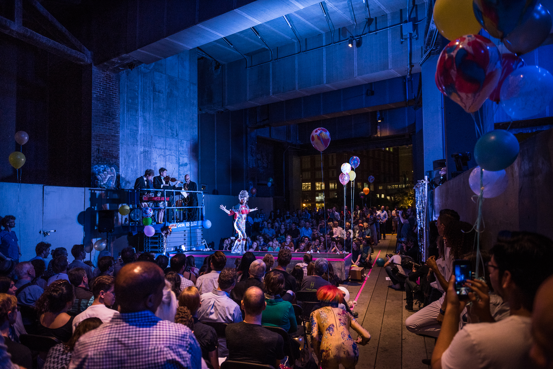 HEARTBEAT ON THE HIGH LINE - September 22, 2016The High Line, NYCHeartbeat Opera was invited to perform as part of the