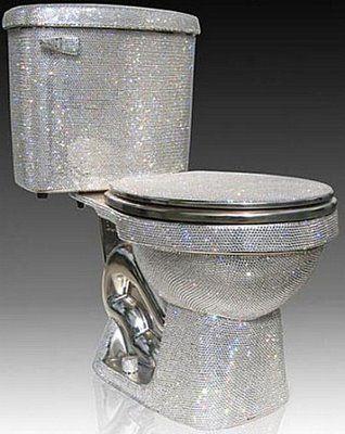 Bling Toilet