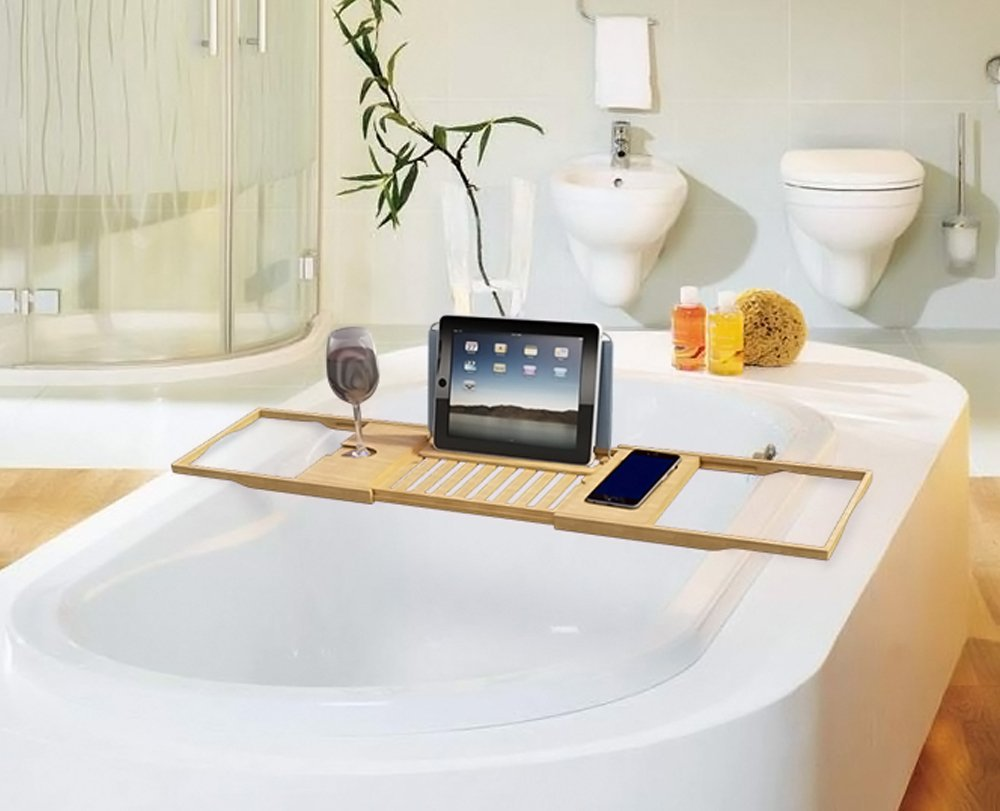 Bamboo Bathroom Tray