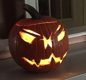 Power Tool Pumpkin Carving Winner 2016