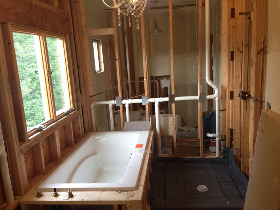 Proper Ways To Relocate Plumbing When Renovating A Bathroom — Kevin Szabo Jr Plumbing - Plumbing Services│Local Plumber│Tinley Park, IL