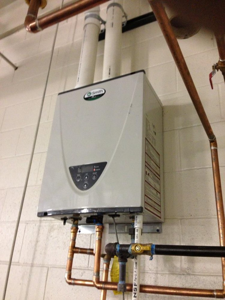 A. O. Smith Tankless Water Heater