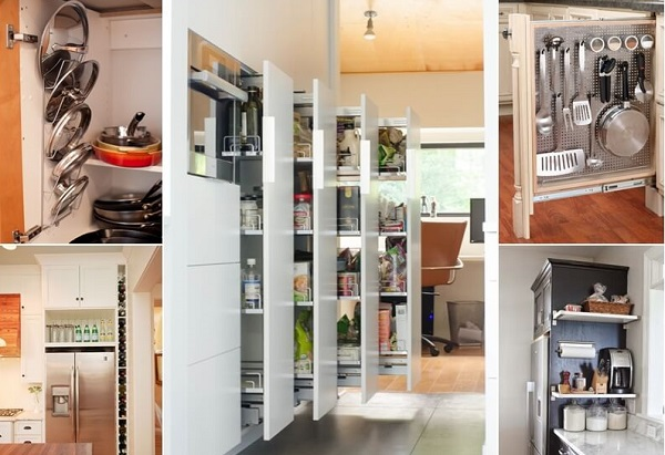 Modern and Stylish Kitchen Ideas From The Covers of Vogue Clever Storage Ideas