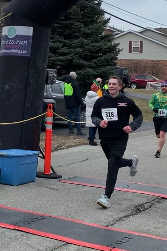 Our plumber Logan Walker participated in Oak Forest's 5K Run.