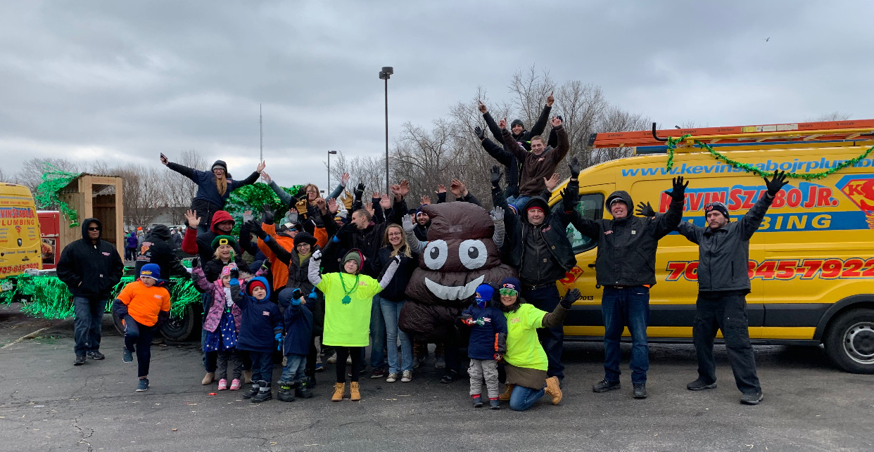2019 Tinley Park's Irish Parade 3rd Place Best Float Winners