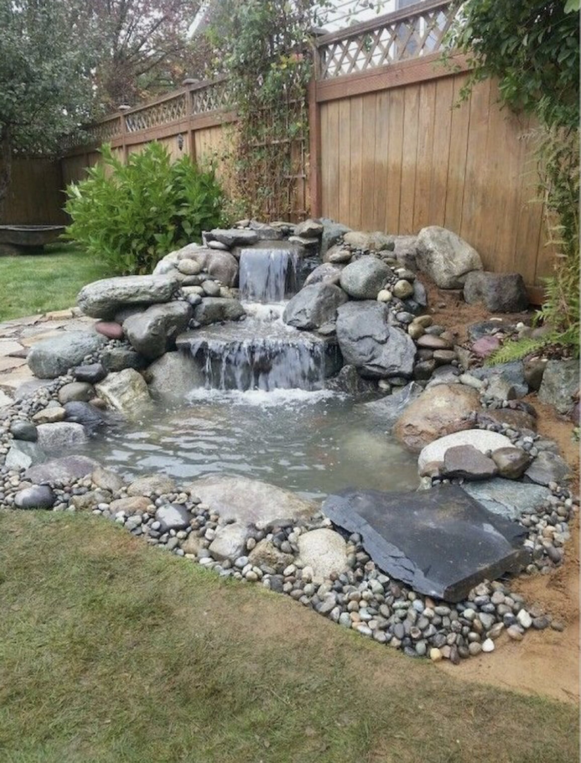 10 Backyard Pond Waterfall Ideas You'll Absolutely Love ...