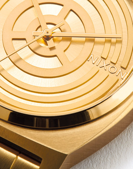 Chest panel from C-3PO embossed on dial