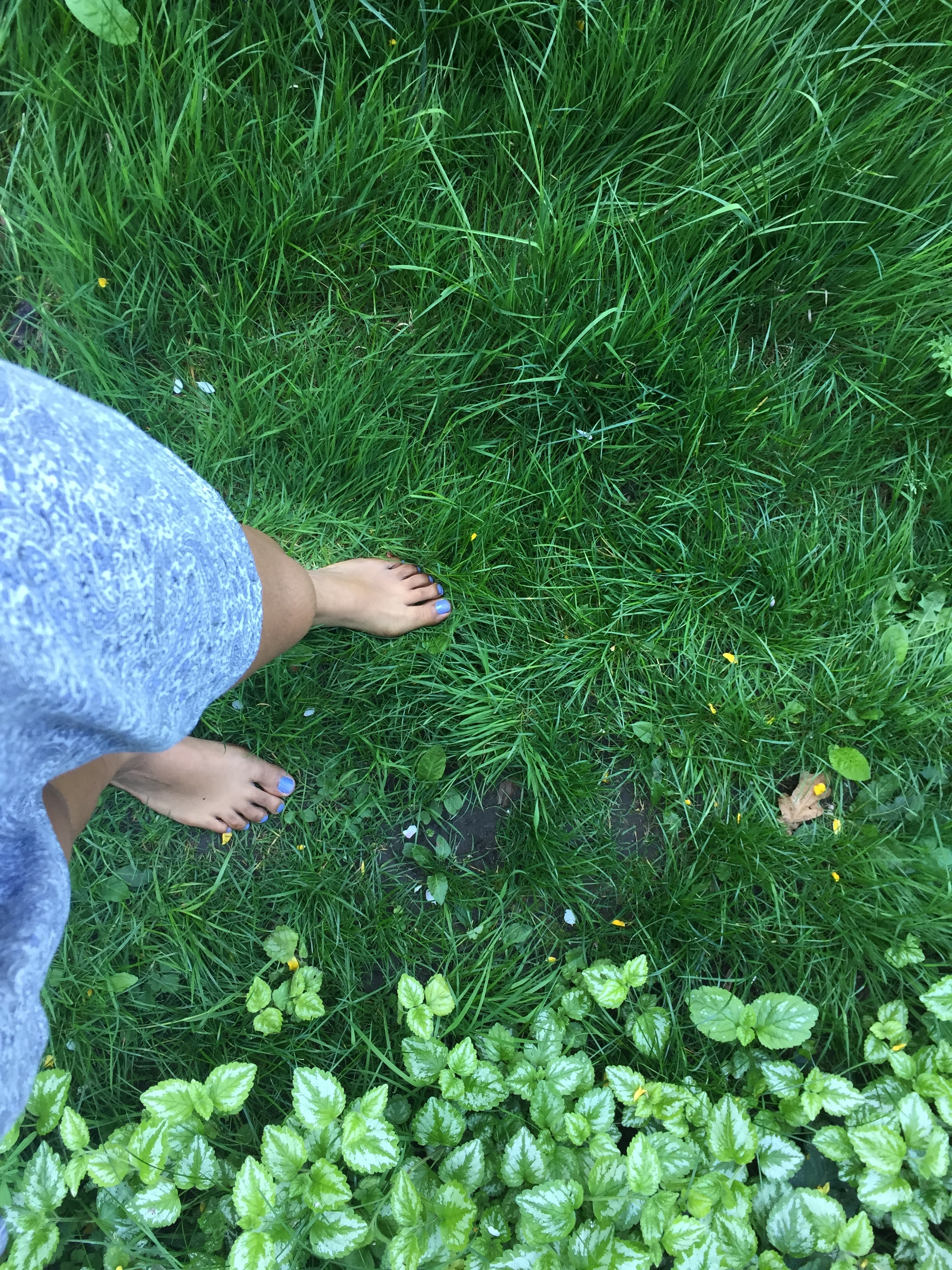 Meditative practice of earthing in my old backyard out in London. Time being out in nature has become crucial for me.