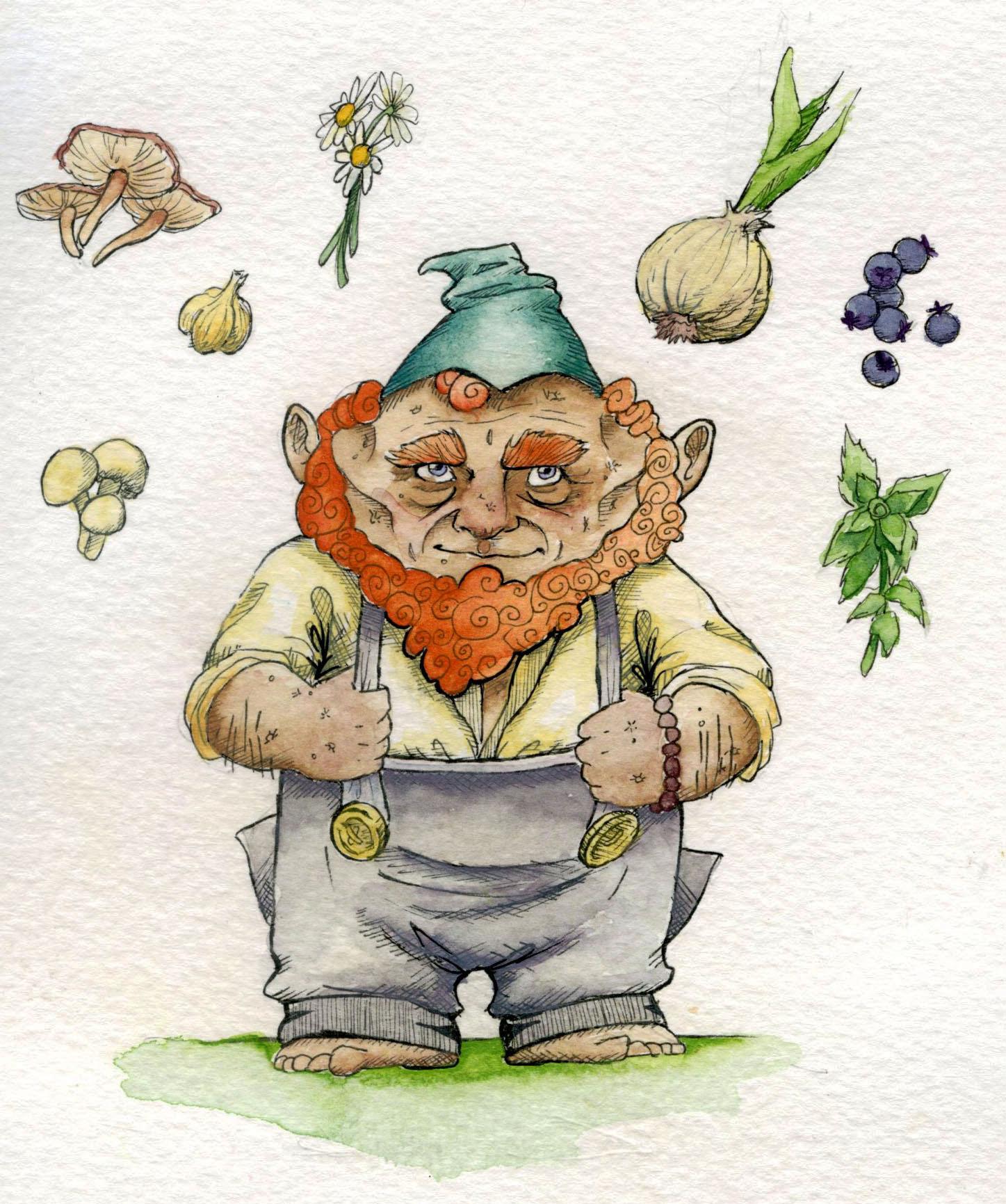Potato Gnome