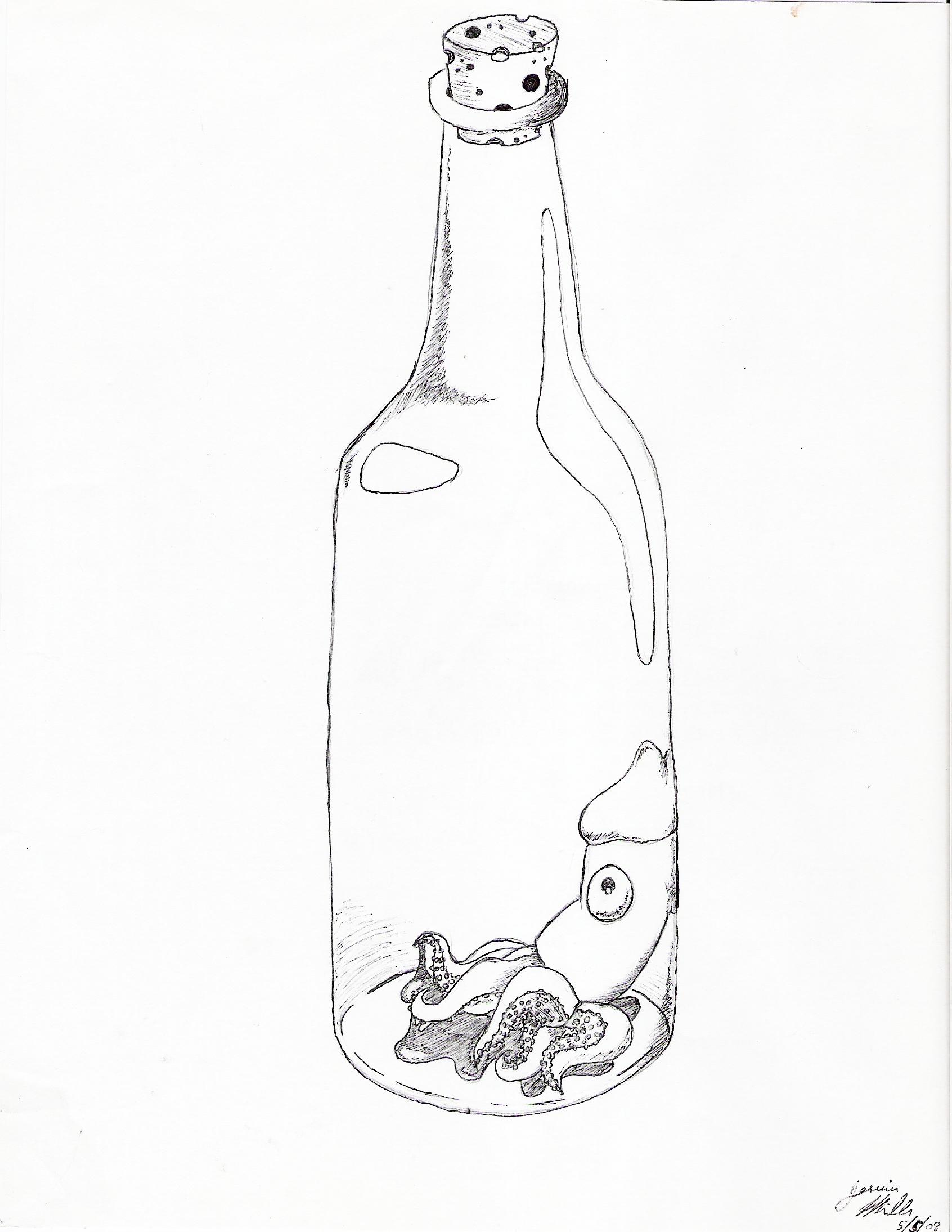 """""""Squid in a Bottle"""""""