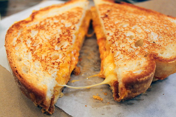 Golly, does this grilled cheese look great or what!