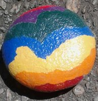 Not to be confused with Gay Pride Rock, which is located in West Hollywood.