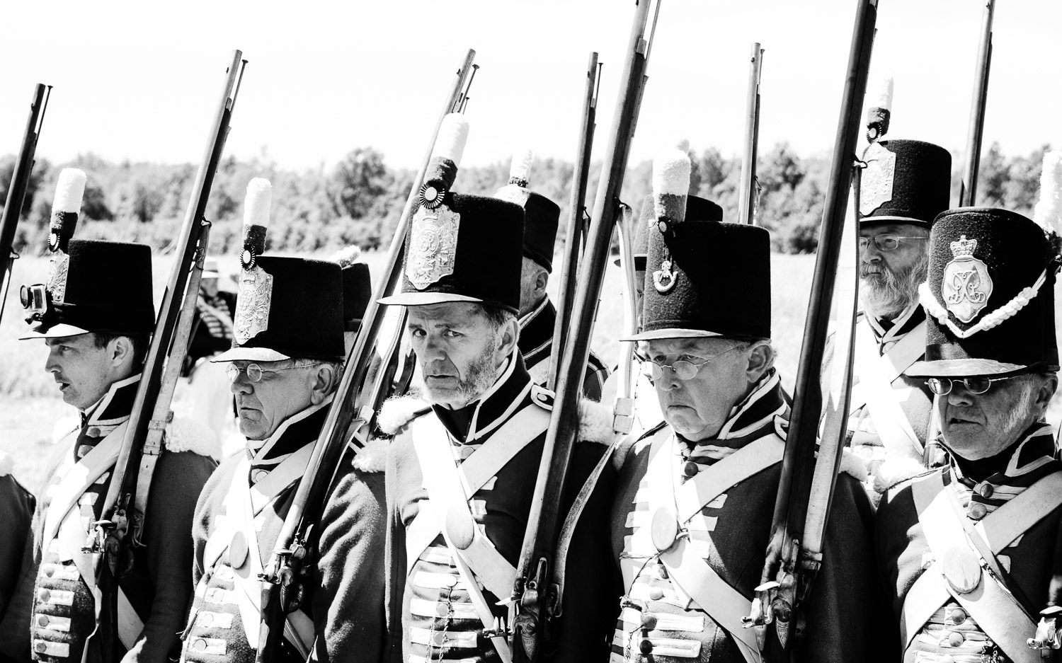 Battle of 1812- Soldiers on a hot day.