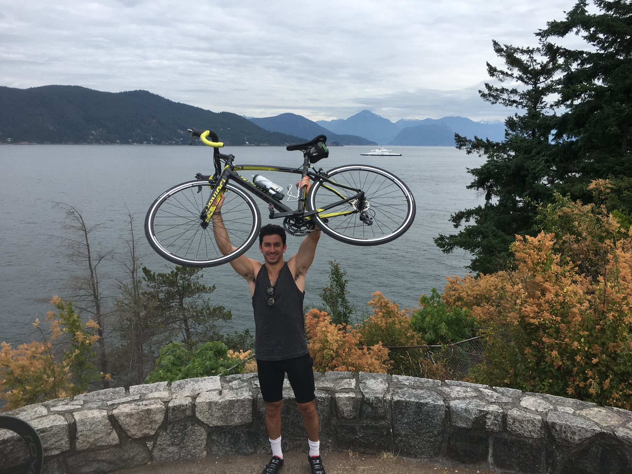 Spent an entire day biking around Vancouver and through the hills of Northern Vancouver