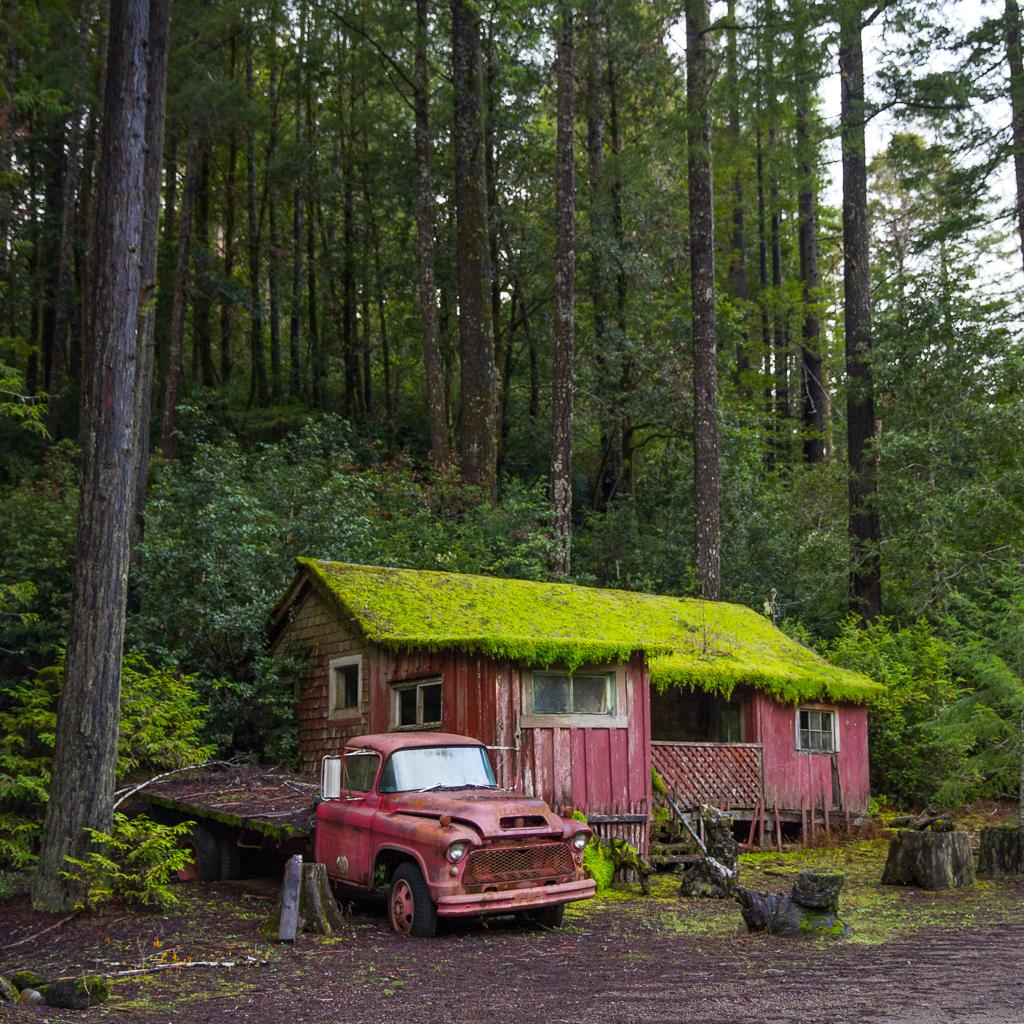 Abandon House, California